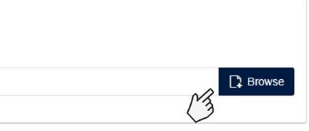 Click Browse button