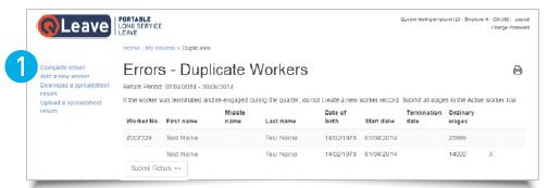 Employers duplicate workers
